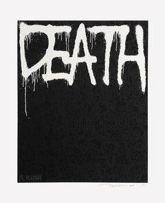 Death: Black Silkscreen (Edition: 100) by Takashi Murakami