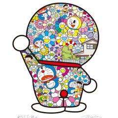 Doraemon in the Flower Garden