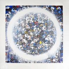 Enso: Memento Mori Red on Blue