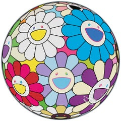 Festival Flower Decoration. Limited Edition (print) by Murakami signed, numbered