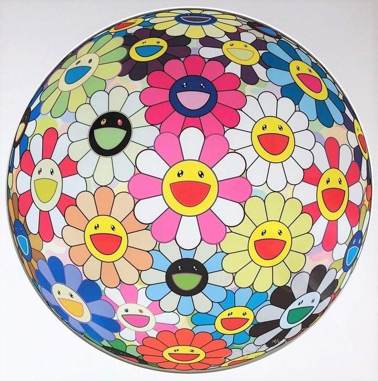 Flower Ball Pink, Takashi Murakami - Print by Takashi Murakami