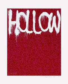 Hollow: Pink Silkscreen (Edition: 100) by Takashi Murakami