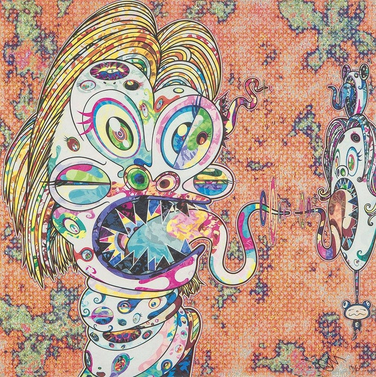 Homage to Francis Bacon. Limited Edition (2 prints) by Takashi Murakami, signed For Sale 1