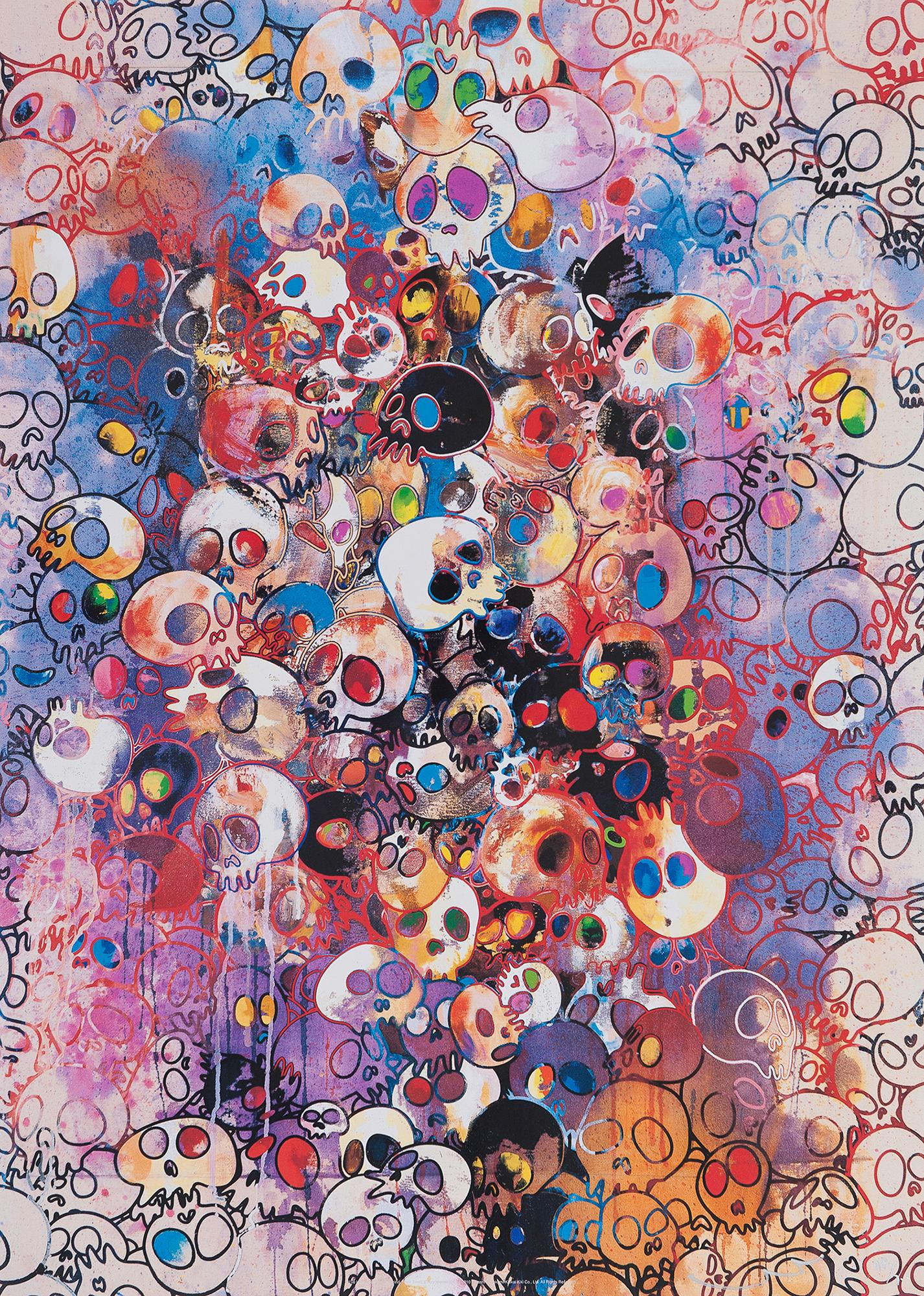 I've Left My Love Far Behind... Limited Edition (print) by Murakami signed