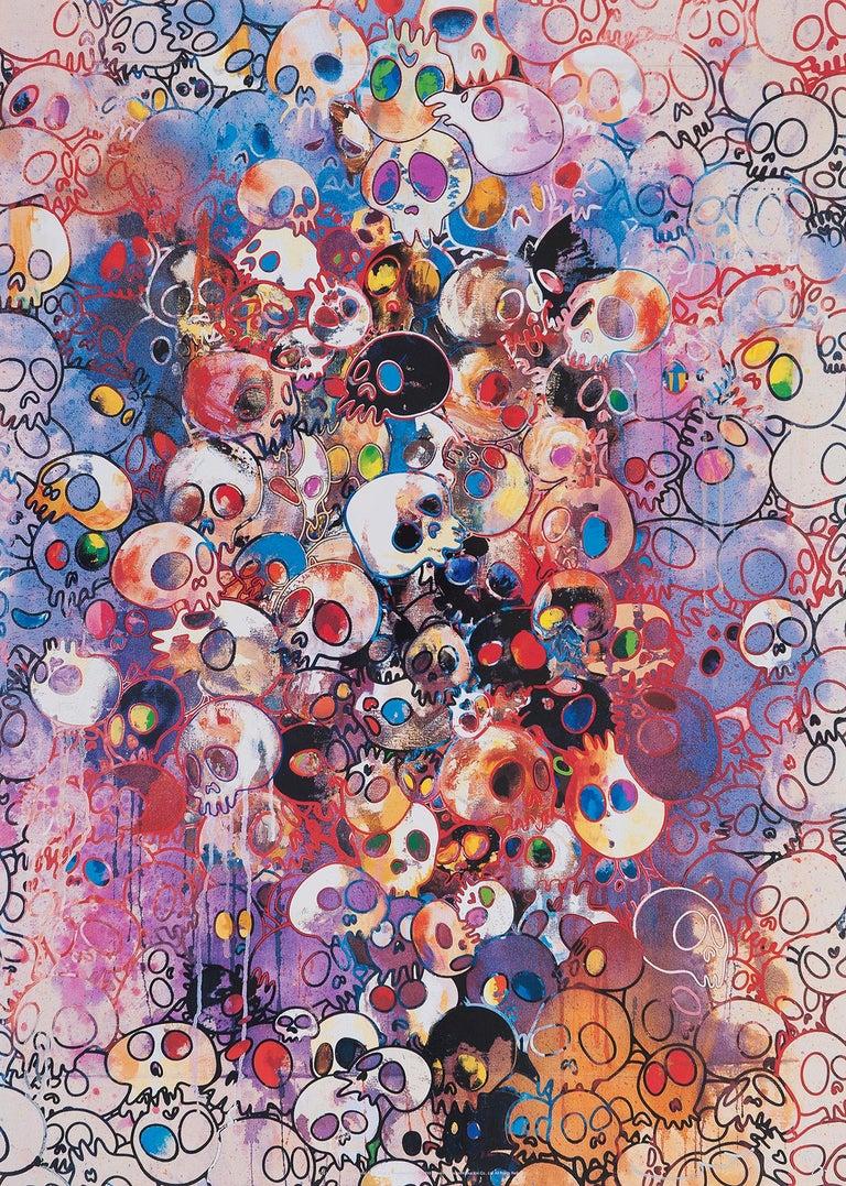 Takashi Murakami Print -  I've Left My Love Far Behind... Limited Edition (print) by Murakami signed