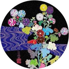 Korin: Azure River, Takashi Murakami