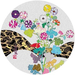 Limited edition Murakami print  - Korin: Flowers