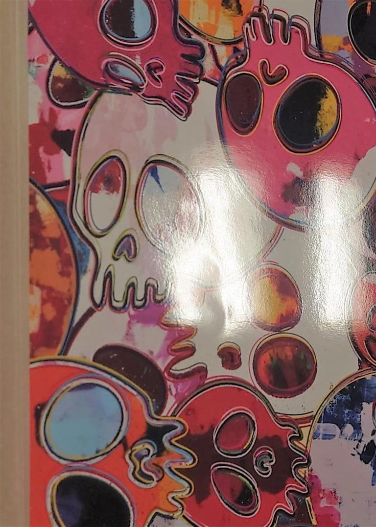 MCRST, 1962 ==> 2011. Limited Edition (print) by Murakami signed, numbered - Brown Figurative Print by Takashi Murakami