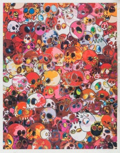 MCRST, 1962 ==> 2011. Limited Edition (print) by Murakami signed, numbered