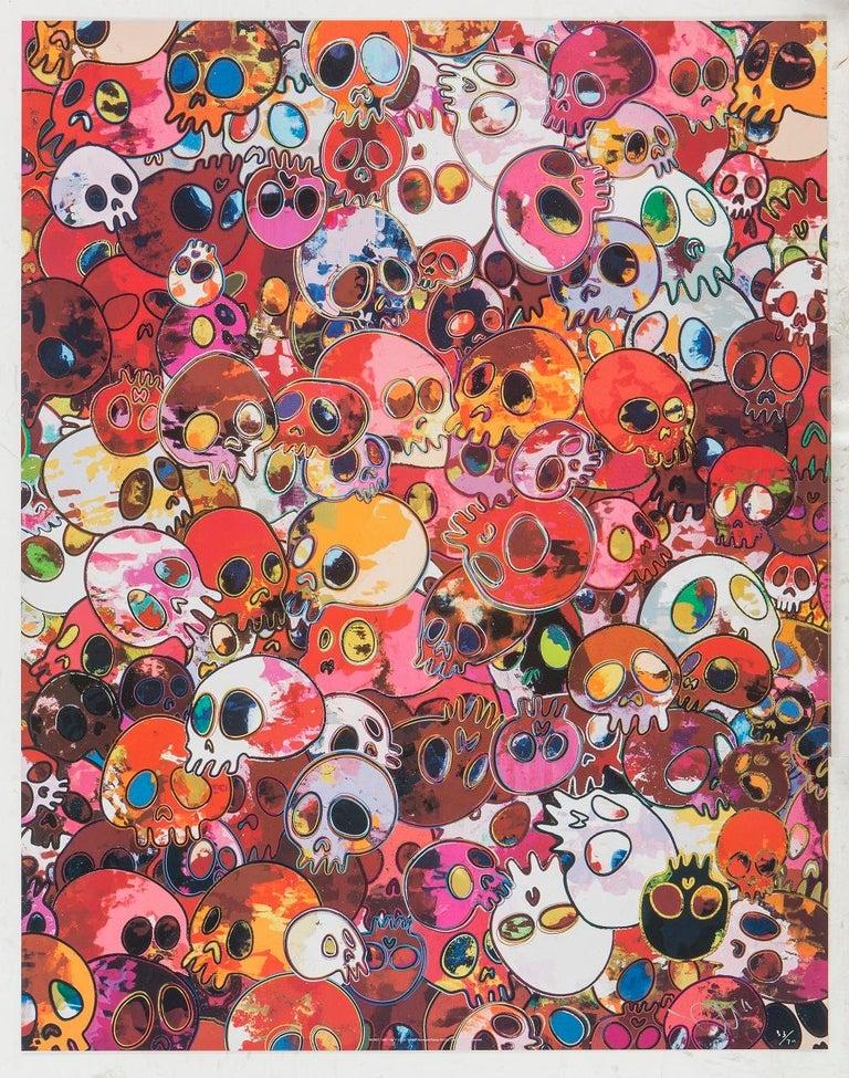 Takashi Murakami Figurative Print - MCRST, 1962 ==> 2011. Limited Edition (print) by Murakami signed, numbered