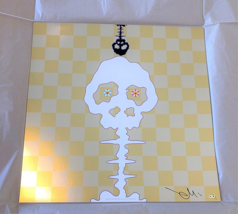 Murakami offset print - Dokuro Yellow  - framed - Print by Takashi Murakami