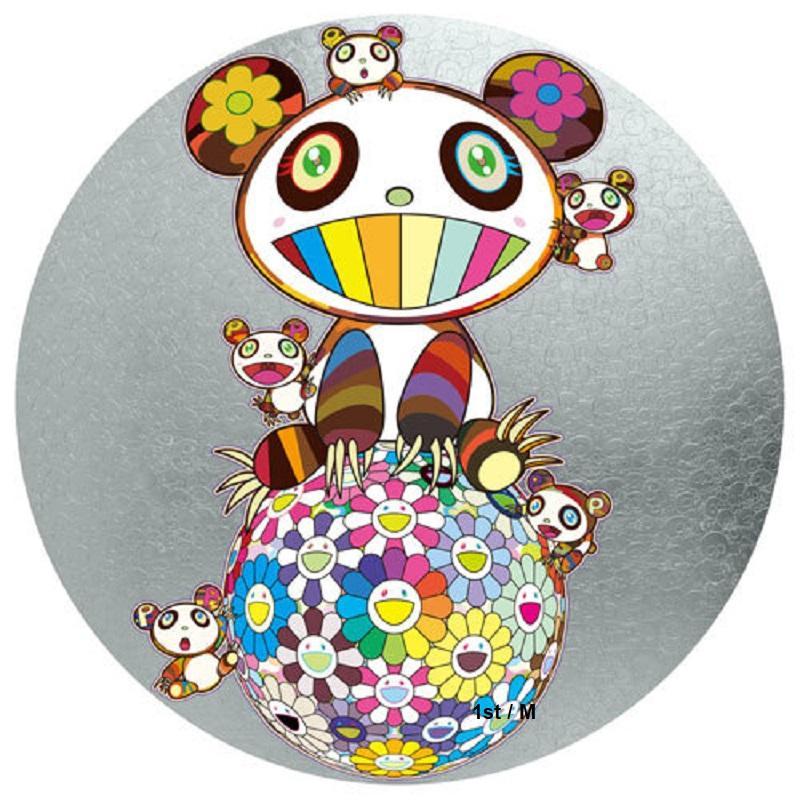 Murakami Panda with Panda cubs on Flower Ball