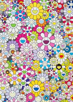 Murakami print  - An Homage to Yves Klein, Multicolor B 2012