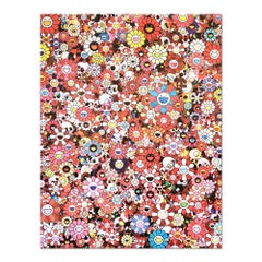 Skulls & Flowers Red, Pop Art, Contemporary Art