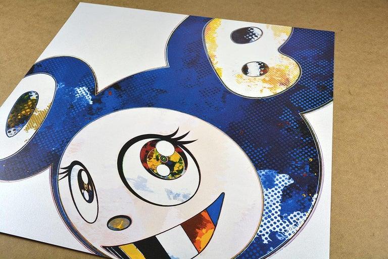 TAKASHI MURAKAMI: And Then x6 (Blue) Hand signed & numb. Superflat, Pop Art - Print by Takashi Murakami