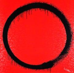 TAKASHI MURAKAMI: Enso The Heart - Hand signed & numbered Superflat, Pop Art