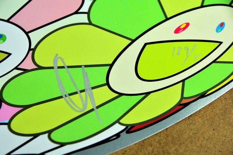 TAKASHI MURAKAMI: Flower Ball Limited ed. hand signed & numb. Superflat, Pop Art 1