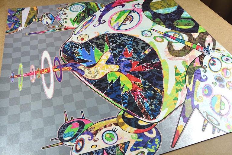 TAKASHI MURAKAMI: Homage to Francis Bacon. Pop Art, Superflat, Japanese Modern 2