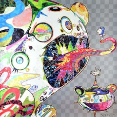 TAKASHI MURAKAMI: Homage to Francis Bacon. Pop Art, Superflat, Japanese Modern