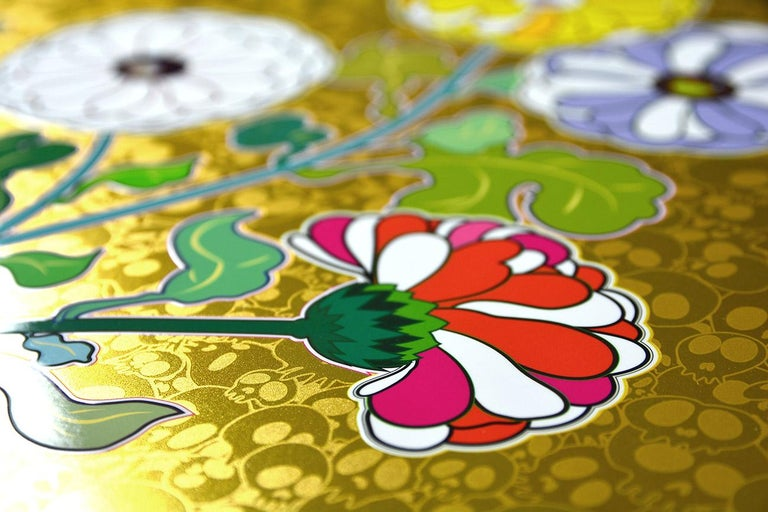 TAKASHI MURAKAMI: Kansei. Limited edition hand signed & numb. Superflat, Pop Art For Sale 3