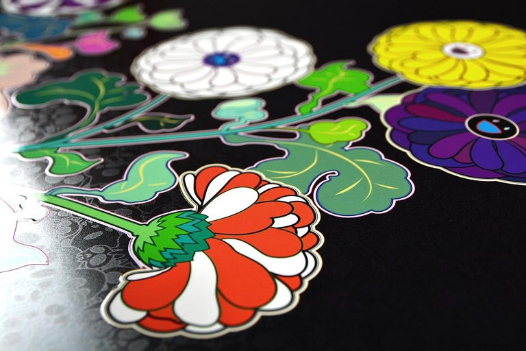 TAKASHI MURAKAMI: Kansei. Limited edition hand signed & numb. Superflat, Pop Art For Sale 3