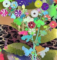 TAKASHI MURAKAMI: KÕRIN. THE TIME OF CELEBRATION Hand signed Superflat, Pop Art