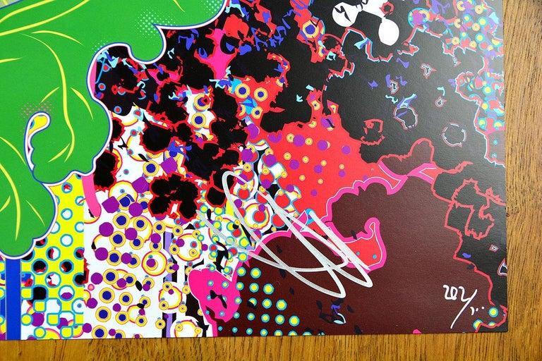 TAKASHI MURAKAMI - KYOTO: KŌRIN Hand signed & numbered. Superflat, Pop Art For Sale 2