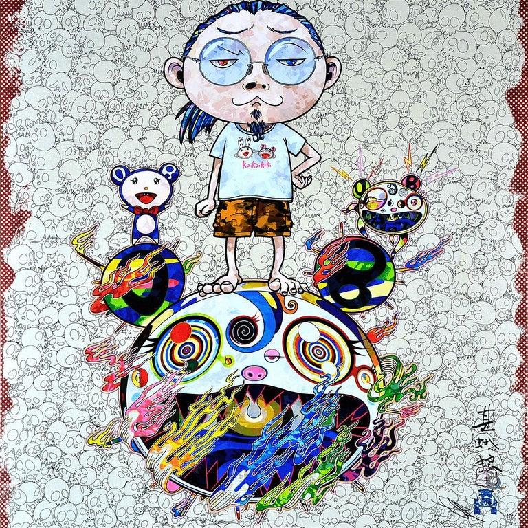 TAKASHI MURAKAMI: Obliterate the... Hand signed & numbered. Superflat, Pop Art - Print by Takashi Murakami