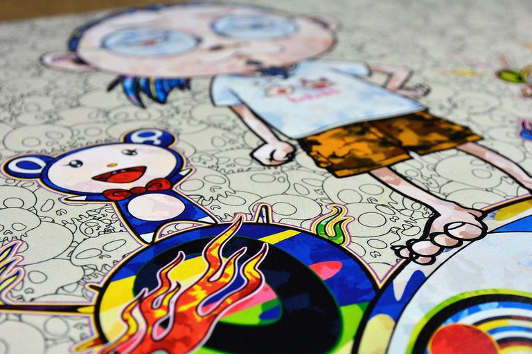 TAKASHI MURAKAMI: Obliterate the... Hand signed & numbered. Superflat, Pop Art For Sale 1