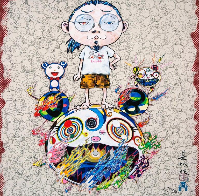 Takashi Murakami Figurative Print - TAKASHI MURAKAMI: Obliterate the... Hand signed & numbered. Superflat, Pop Art