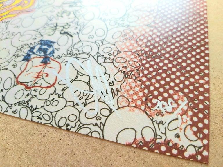 TAKASHI MURAKAMI: Panda Family and Me Hand signed & numbered. Superflat, Pop Art For Sale 1