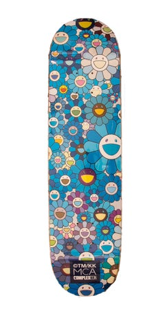 Takashi Murakami x Complexcon Deck 8.0 - Blue Multi Flower