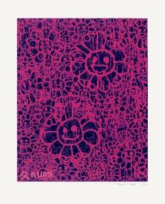 Takashi Murakami x MADSAKI Flowers Pink A Silkscreen Edition 100