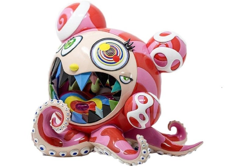 Takashi Murakami Figurative Sculpture - Mr. Dob