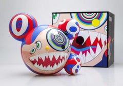 Signed Takashi Murakami  Mr. DOB (red Takashi Murakami Mr. DOB)