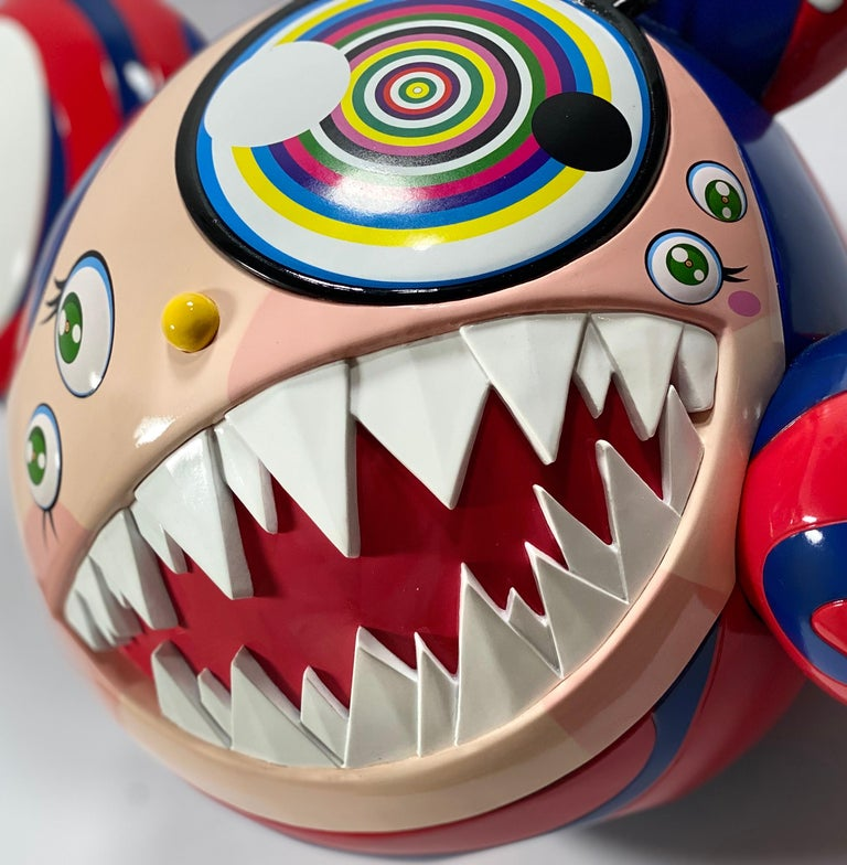 Takashi Murakami Complexcon 2016 Exclusive Mr Dob Red Blue Vinyl Art Toy New  For Sale 1