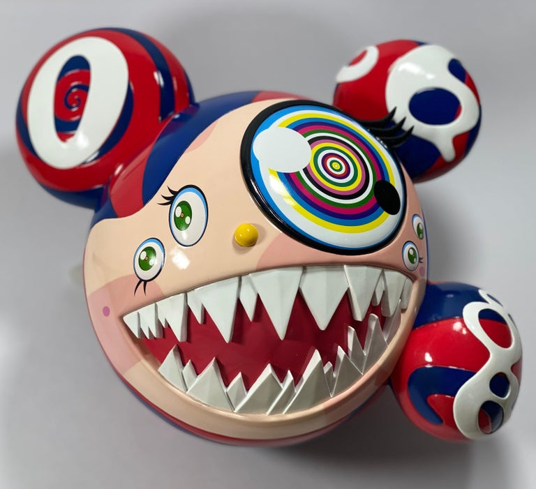 Takashi Murakami Complexcon 2016 Exclusive Mr Dob Red Blue Vinyl Art Toy New  For Sale 3