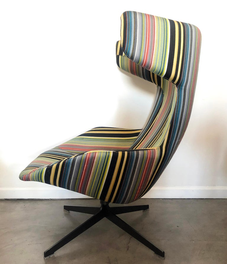Contemporary Take A Line For A Walk Chair, Alfredo Haberli, Paul Smith Edition for Moroso For Sale