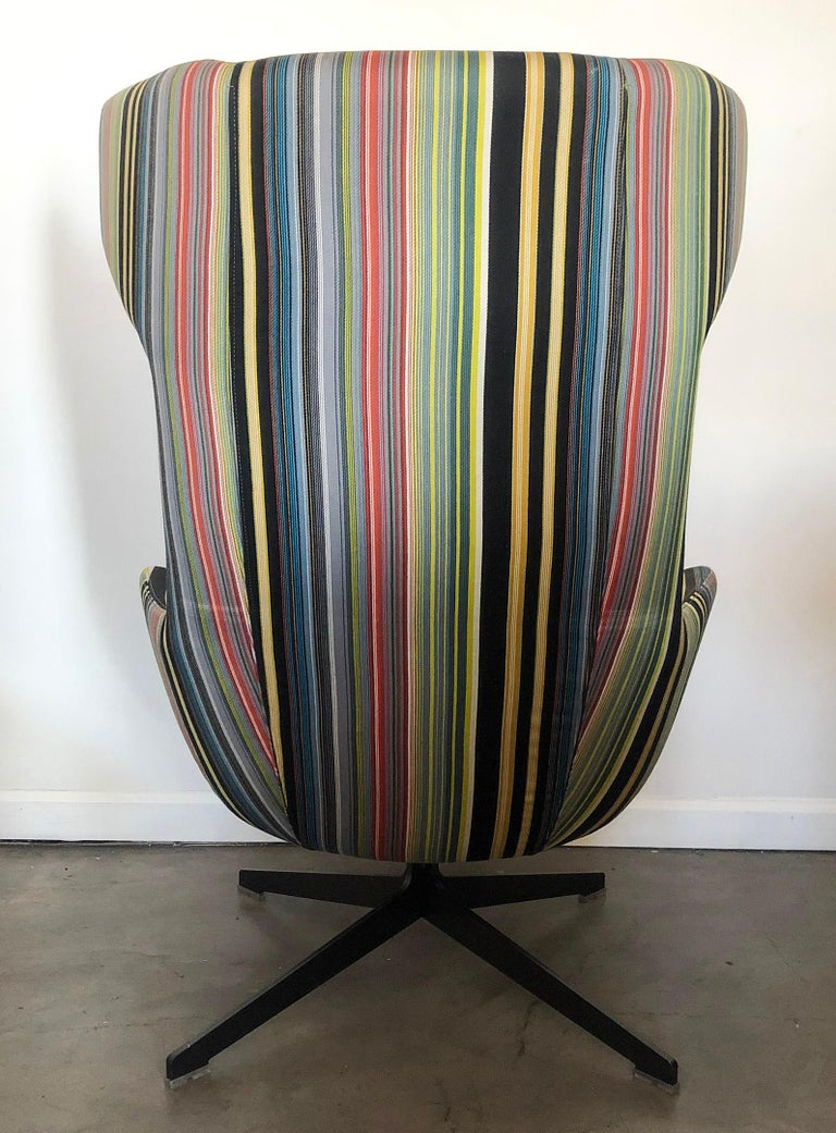 Fabric Take A Line For A Walk Chair, Alfredo Haberli, Paul Smith Edition for Moroso For Sale
