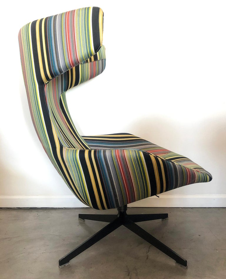 Take A Line For A Walk Chair, Alfredo Haberli, Paul Smith Edition for Moroso For Sale 1