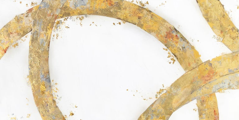 Takefumi Hori Abstract Painting - Arcs