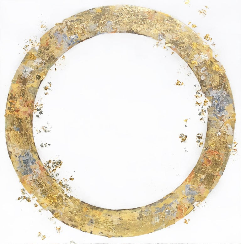 Takefumi Hori Abstract Painting - Circle 117