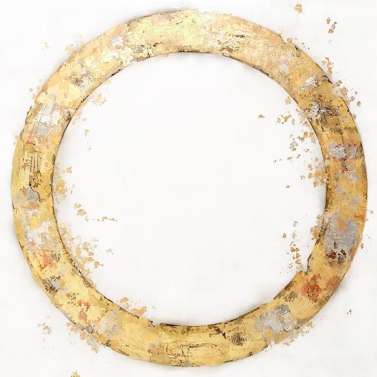 Takefumi Hori Abstract Painting - Circle 119