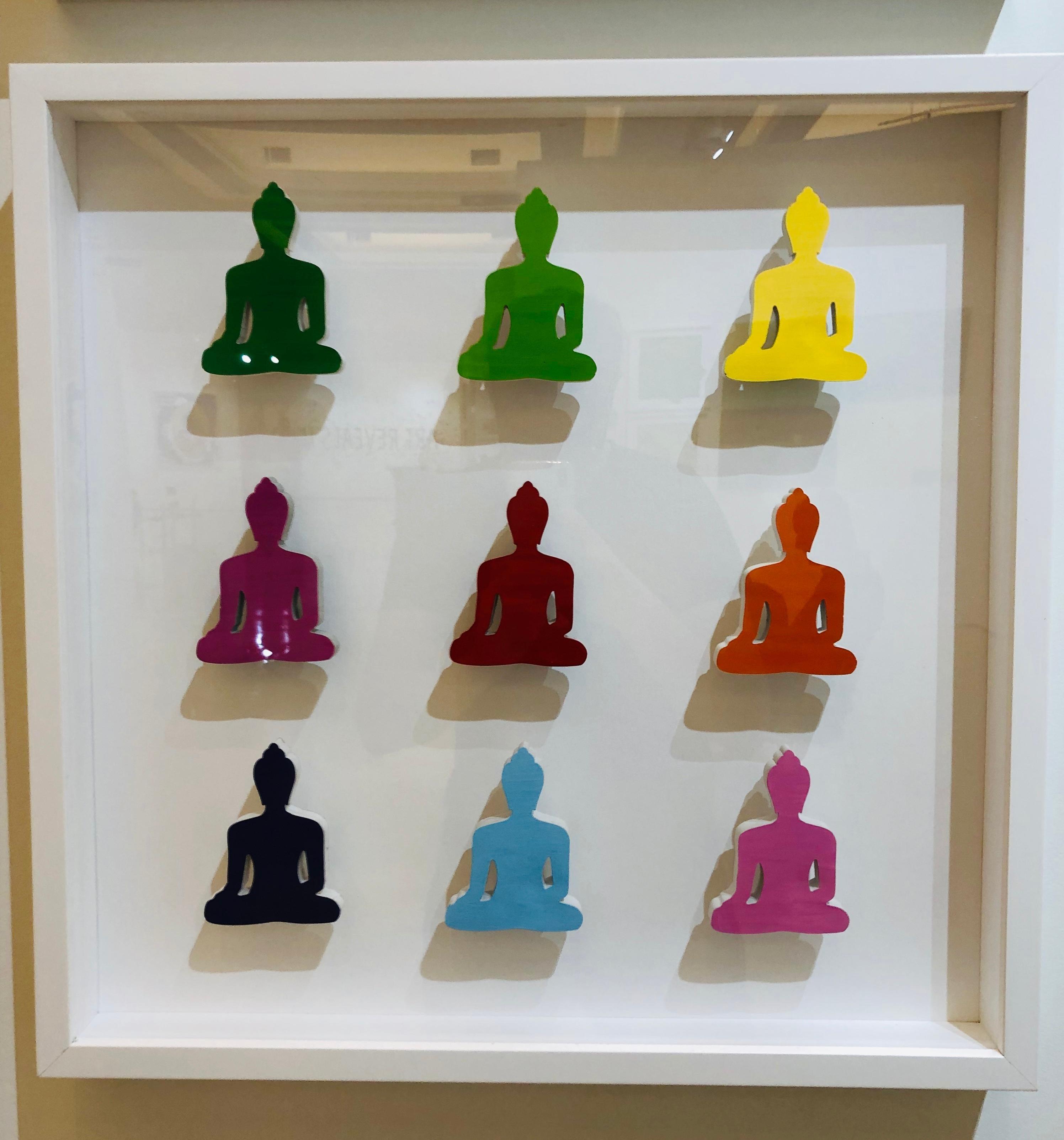 Nine Concrete No. 8 - Buddha sculptures