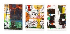 Untitled, Suite of 3 Screenprints, Abstract Art, Contemporary Art, 21st Century