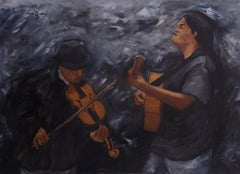 Los Garrafa, Painting, Oil on Canvas