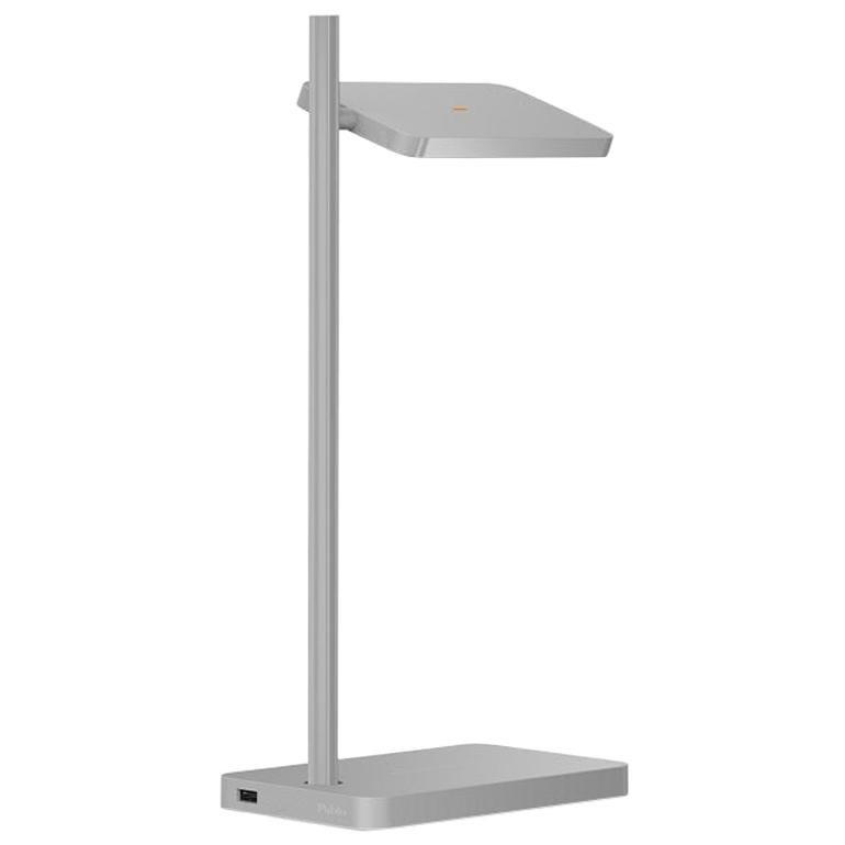 Talia Table Lamp in Grey Matt/Gloss Finish by Pablo Designs