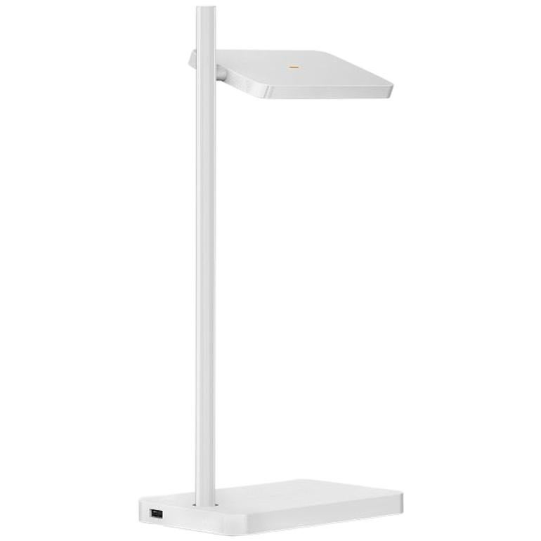 Talia Table Lamp in White Matt/Gloss Finish by Pablo Designs