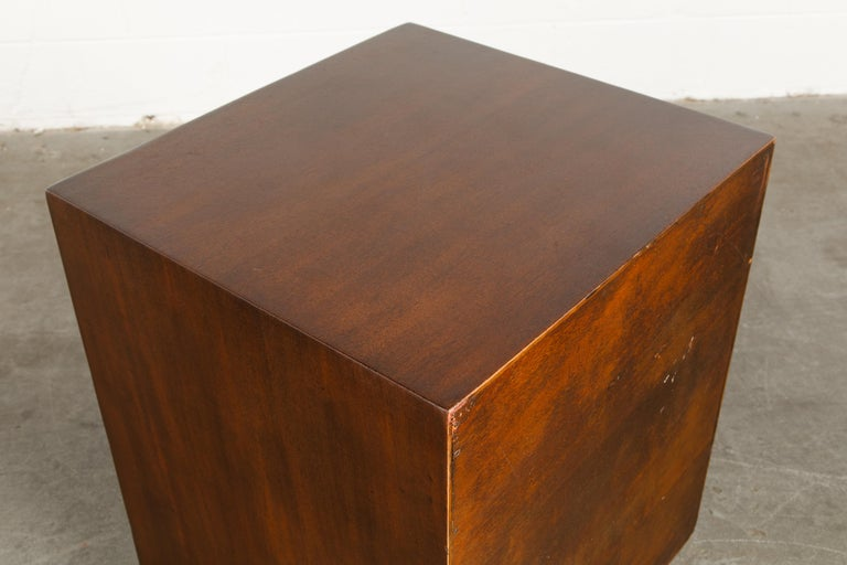 'Taliesin' Collection Mahogany Cabinet by Frank Lloyd Wright, 1955, Signed For Sale 7