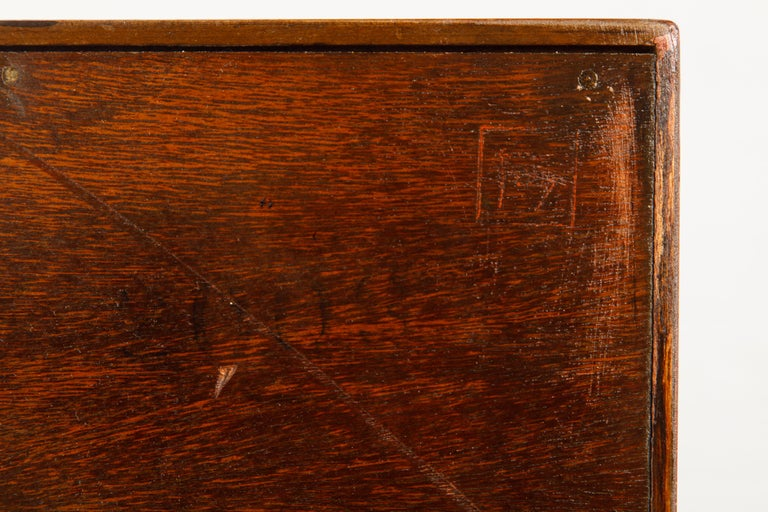 'Taliesin' Collection Mahogany Cabinet by Frank Lloyd Wright, 1955, Signed For Sale 13